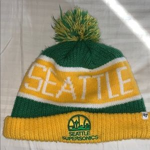 Seattle SuperSonics beanie